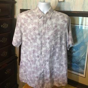 Tasso Elba Other - Tasso Elba Island Men's Button Short Sleeve Size M