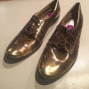 Pour la Victoire Shoes - Pour La Victorie Gold dress shoes