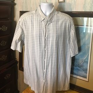 Cubavera Other - Cubavera Men's Stripe Button Short Shirt Size XL