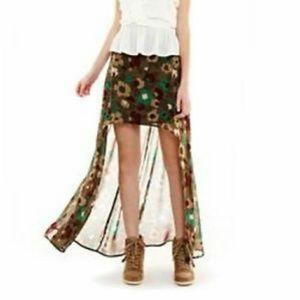 Nanette Lepore Dresses & Skirts - NWOT, Nanette Lepore, Lrg, Hi Lo Skirt