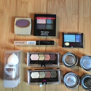 Maybelline makeup lot eyeshadow dream blender