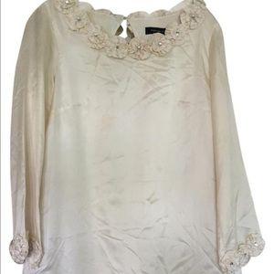 Women's Long Sleeve Silk Dress