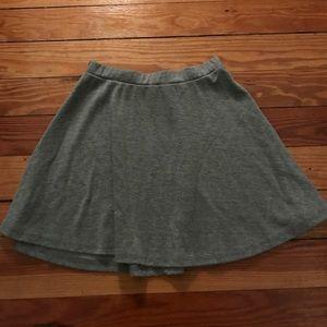 Hollister Dresses & Skirts - Gray skater skirt