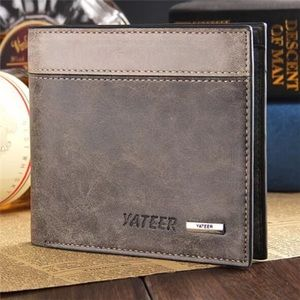 Other - Mens Two-Tone Leather Bifold Wallet.