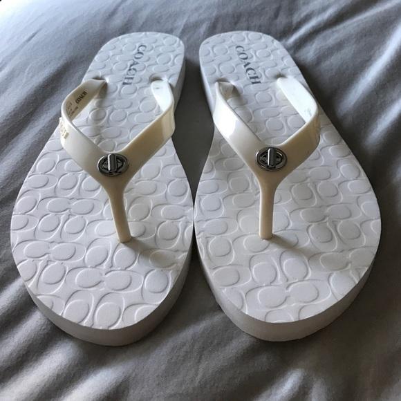 Coach Shoes | Coach Abbigail Flip Flops