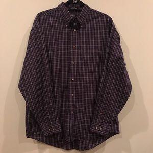 Arrow Other - Men's Arrow Button Up Shirt / Size Large 16-16.5