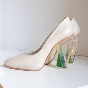 Miista Shoes - Miista Tara Pumps Heels - Grey