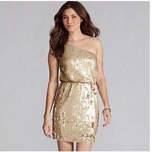 Chelsea & Violet Dresses & Skirts - Chelsea & Violet one-shoulder sequin dress
