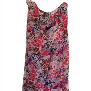 Women's Strapless Maxi Dress