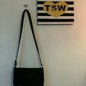 Guess Bags - GUESS black nylon cross body