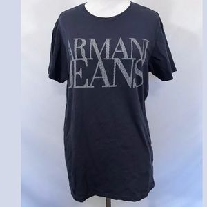 Armani Jeans Other - Armani Jeans Graphic Regular Fit Tee in Blue