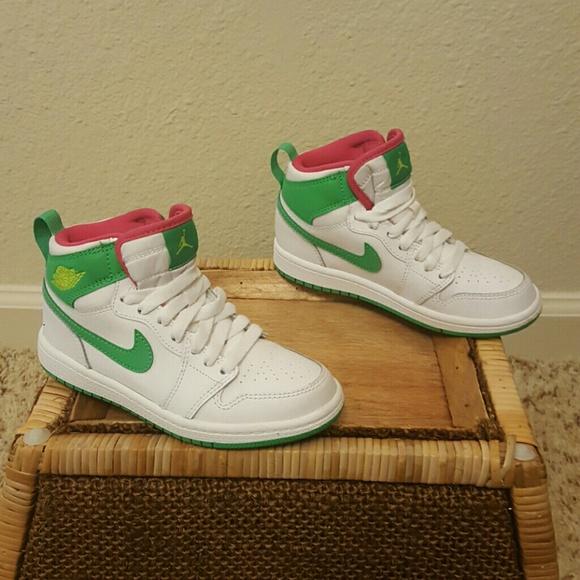 wholesale dealer 2711e 2b683 Nike JORDAN AJ 1 HIGH - GIRLS' PRESCHOOL