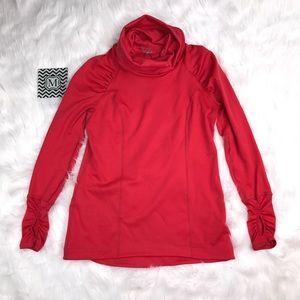 CALIA by Carrie Underwood Tops - CALIA BY CARRIE UNDERWOOD Red Running Sweatshirt