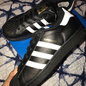 Adidas Shoes - Black and white adidas superstars   cshop