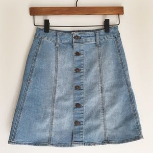 Mossimo Supply Co. Dresses & Skirts - NWOT Mossimo Medium Wash Denim Skirt