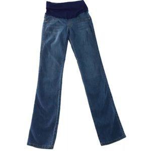 James jeans maternity 28 straight leg