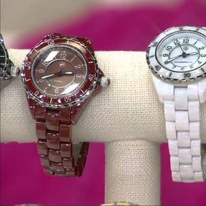 Isaac Mizrahi Accessories - dark brown watch Isaac mizrahi