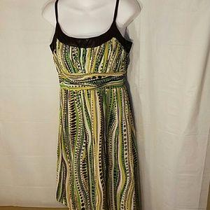 Sangria Dresses & Skirts - Like new Sangria spaghetti strap spring dress 10