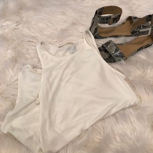 Mikey & Joey Tops - Flash Sale! Mikey & Joey Ribbed Bodysuit Tank