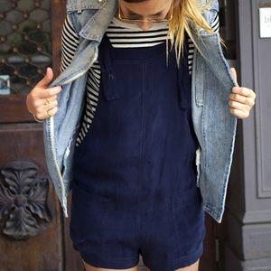 Zara Silk Romper Size M