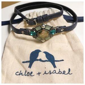 Chloe+Isabel Leather Wrap Bracelet