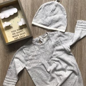 Angel Dear Other - Angel Dear Layette Gown and Hat