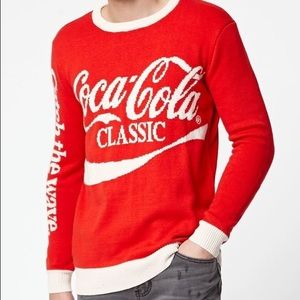 Junk Food Sweaters - NWT Coca-Cola Crew Neck Sweater