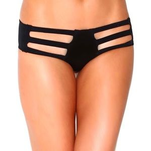 Black Diamond Other - BLACK DIAMOND RAVE PARTY SWIMWEAR BIKINI BOTTOM S