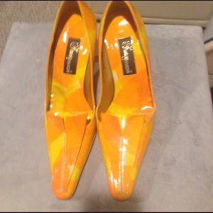 fantasy collection Shoes - Fantasy Collection patent leather pumps