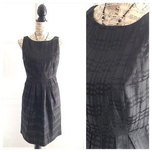 Max & Cleo Dresses & Skirts - Max & Cleo Black Plaid Print Dress