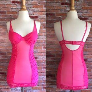 Jessica McClintock Other - Jessica McClintock hot pink negligè