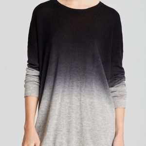 Vince Oversize Dip Dye Cashmere Sweater XS