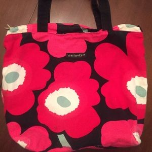 Marimekko Handbags - MARIMEKKO-Pink Poppy Tote- Breast Cancer Awareness