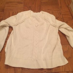 Old Navy Sweaters - Cream Chunky Sweater