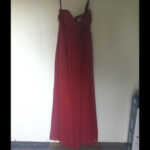 Bill Levkoff Dresses & Skirts - Beautiful red Bill Levkoff formal dress