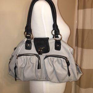 Handbags - Cute grey and black handbag
