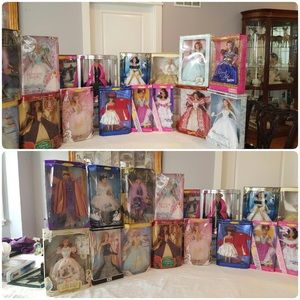 Barbie Other - Barbies- a lot of them