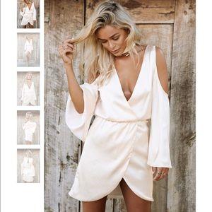 Sabo Skirt Dresses & Skirts - Sabo skirt silky dress