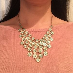 Jewelry - Necklace with light blue stones