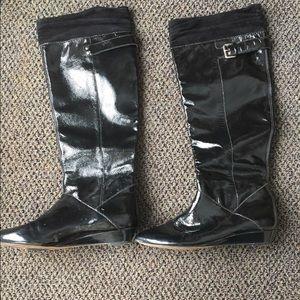 Via Spiga Shoes - Via Spiga black leather boots
