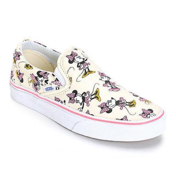 f442a20f25 Kids Disney Vans Minnie Mouse size 2. M 58eb115d36d594123f00c6f1. Other  Shoes ...