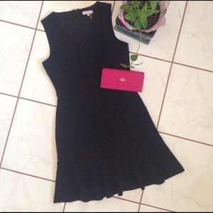 1. State Dresses & Skirts - 🆕 V-neck Black Dress with Flowy Bottom