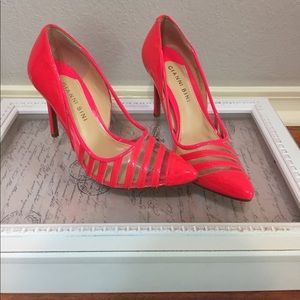 Gianni Bini Shoes - Neon see-through heels
