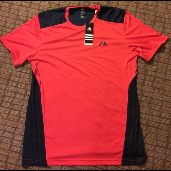 cheap for sale picked up well known Adidas performance Climacool red tee shirt Lg NWT