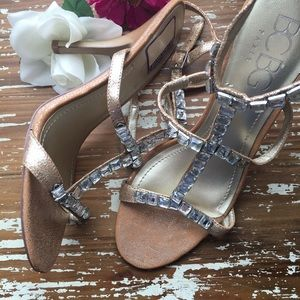 BCBG Shoes - Cork trend✨The Luxx BCBG Paris Princess T-Strap✨