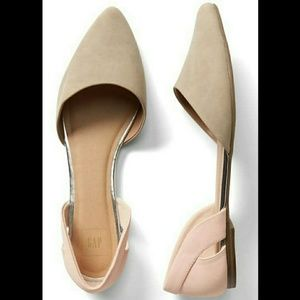 GAP Shoes - NWOT GAP CUTOUT D'ORSAY FLATS SZ 10