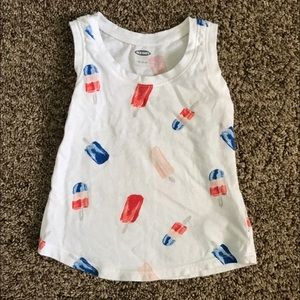 Old Navy Other - Patriotic Girls Summer Tank Top