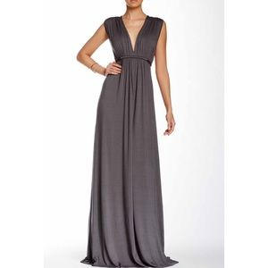 Rachel Pally Dresses & Skirts - Rachel Pally Gray Sleeveless Caftan Maxi Medium