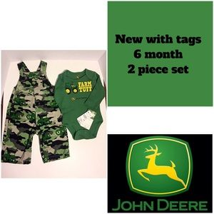 John Deere Other - SALE 🔥NWT 2 piece John Deere set size 6m