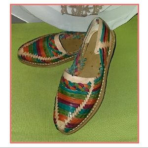 boutique  Shoes - AMAZING Hippie/Gypsy/Boho Leather Braided Flats